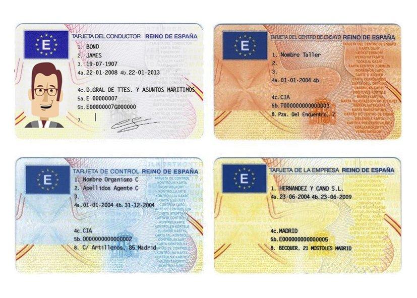 tipos-de-tarjetas-de-tacografo-digital